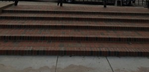 Brick Steps & Entrance