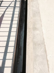 Expansion Joint on parking garage