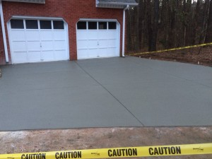 Finished Driveway