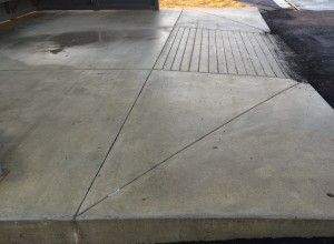 Sidewalk & Ramp Entrance